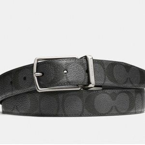 NWT Coach Signature Cut-To-Size Reversible Belt OS